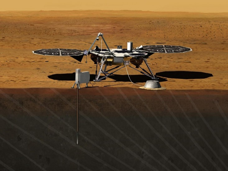 NASA lançará sonda para analisar interior de Marte em 2018