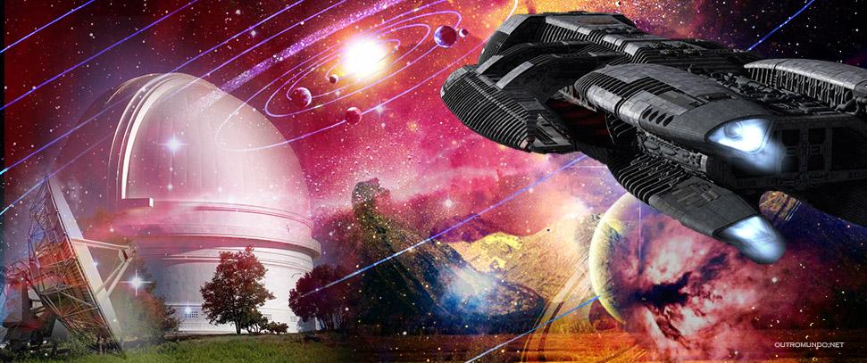 Mais sobre as naves gigantescas no sistema solar; Entrevista polêmica