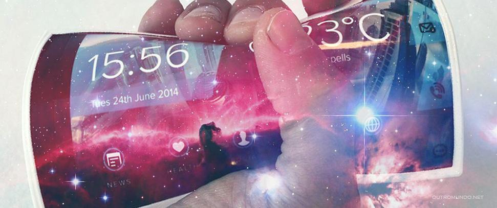 Telas flexíveis serão realidade em breve