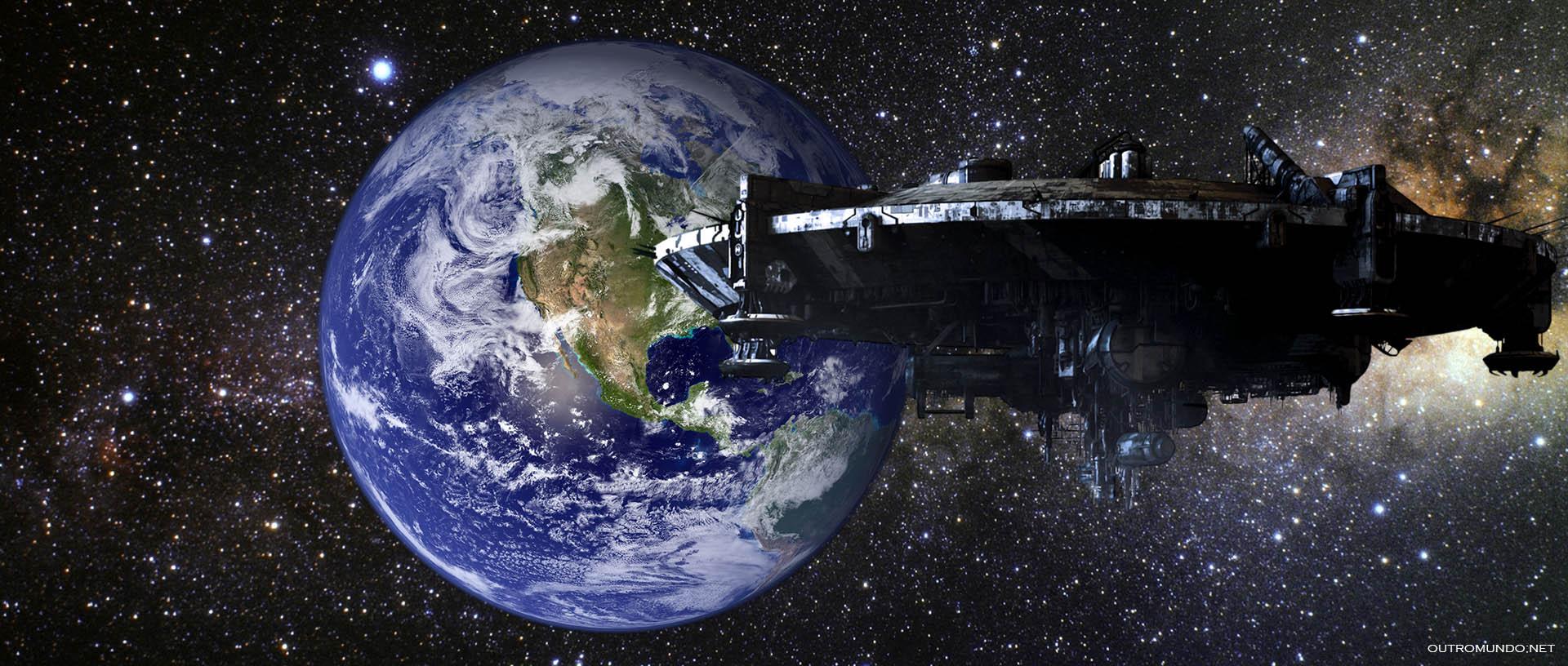 """Astrônomos espantados captam """"nave mãe"""" gigantesca no nosso sistema solar"""