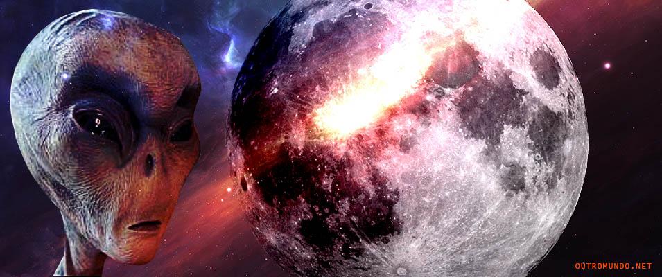 Alienígenas na lua, a verdade exposta