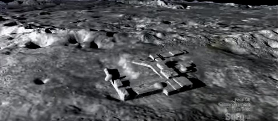 alienígenas na lua