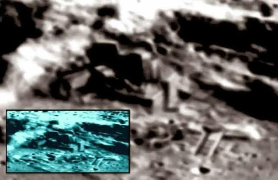 bases alienígenas na Lua