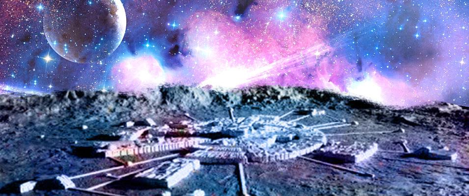 China revela fotos de bases alienígenas na Lua