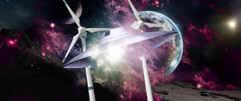 OVNI desliga turbina de um parque eólico na Polônia