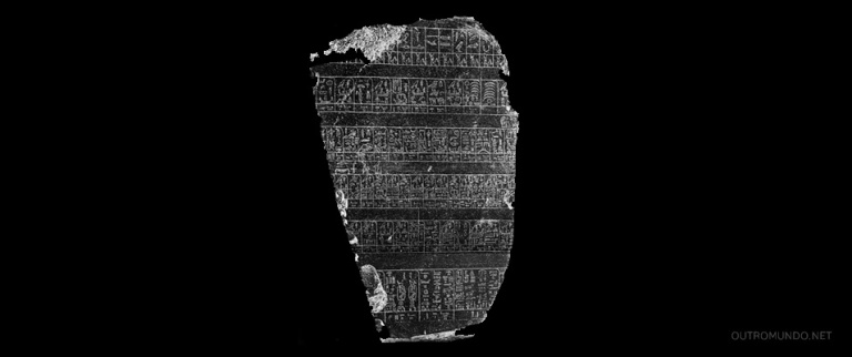 Pedra Palermo; Seria a prova para a teoria dos astronautas do passado?