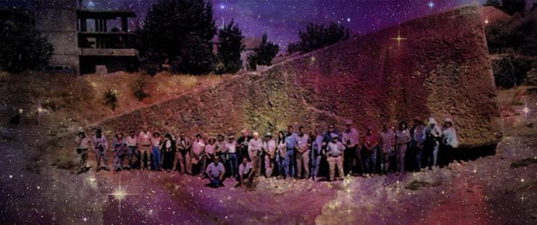 Ruínas de pedras megalíticas gigantescas encontradas na Russia