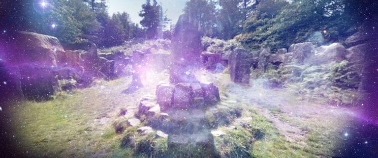 Ilton Druids Temple; Um belo devaneio criado no Reino Unido