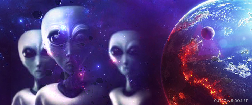 Astronauta diz que ETs podem rastrear os humanos a partir da atmosfera terrestre