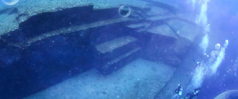 As misteriosas ruínas submersas de Yonaguni