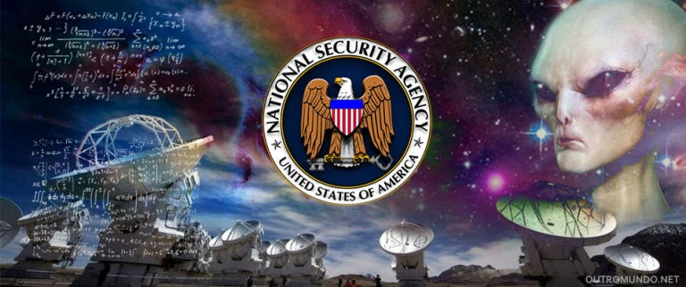 Mensagem extraterrestre; A prova de contato divulgada no site da NSA