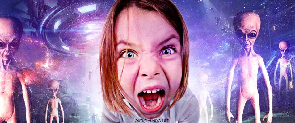 Garota busca ajuda para se livrar de traumas causados por abdução aos 4 anos de idade