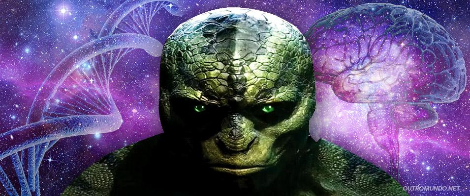 O Complexo-R; A herança genética Reptiliana