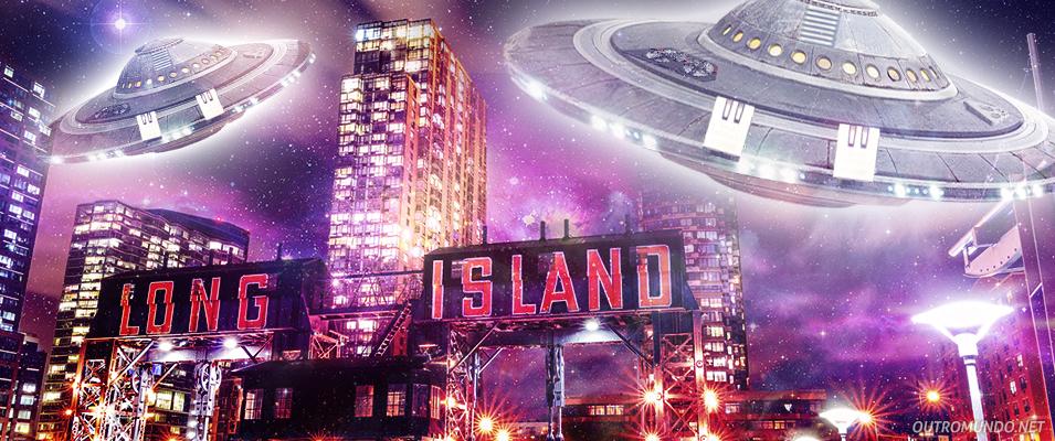 OVNI em forma de pirâmide e grande atividade UFO sobre Long Island – NY