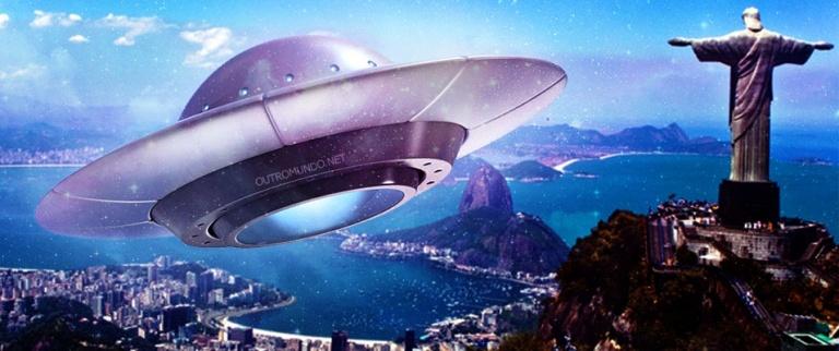 Frota de OVNIs filmados no Rio de Janeiro em Agosto de 2016