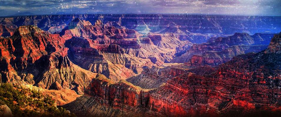 Grand Canyon; Gigantes e cidade subterrânea encontrada