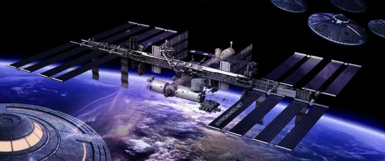 Estação Espacial Internacional; muitos flagrantes de OVNI na ISS