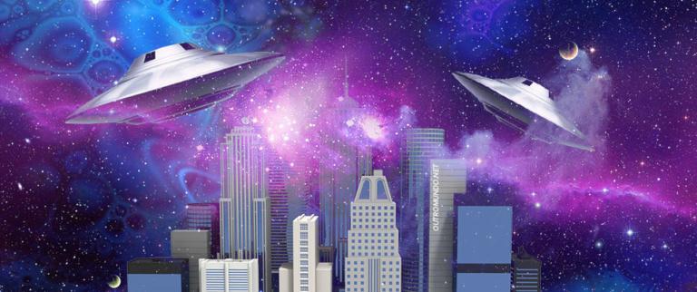 UFO filmado sobrevoando arredores de Shopping em Houston no Texas