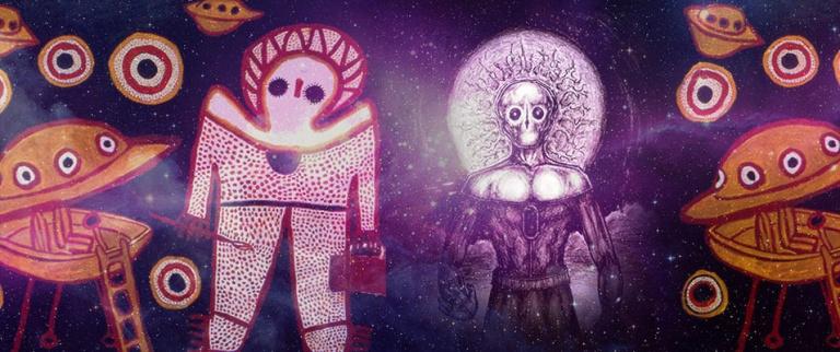 Wandjina; Pinturas de 'Aliens' em caverna de 50 mil anos