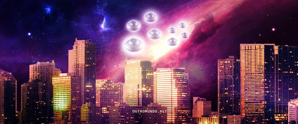 Frota de OVNIs filmados na Bielorrúsia e outras esferas de luz