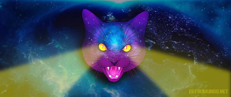 Podem os gatos ver extraterrestres invisíveis ao olho humano?