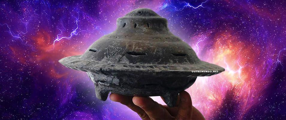 Peças arqueológicas encontradas no México evidenciam contato com UFOs no passado