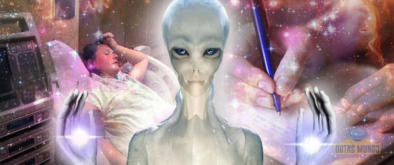 Uma carta de cura extraterrestre