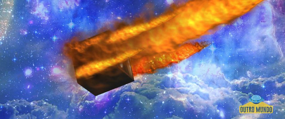 Estranho objeto em chamas filmado no céu da Austrália; Avião ou nave espacial?