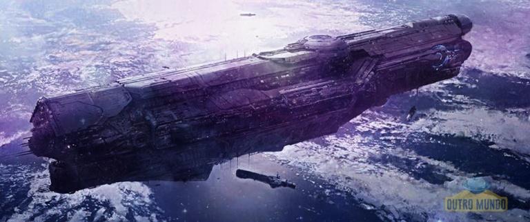 As evidências de gigantescas naves de guerra e Frota Espacial Secreta dos EUA