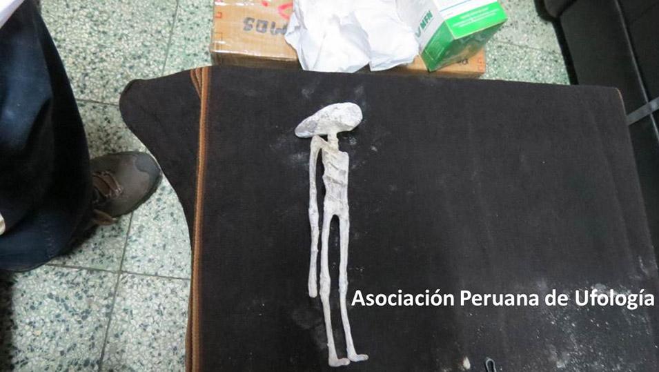 Restos mortais encontrados no Perú