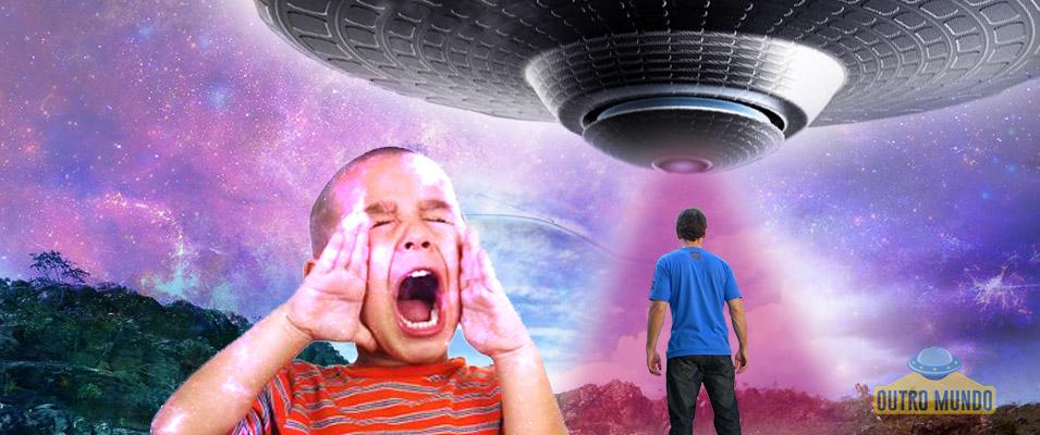 A Criança que presenciou o desaparecimento do pai em fenômeno ufológico