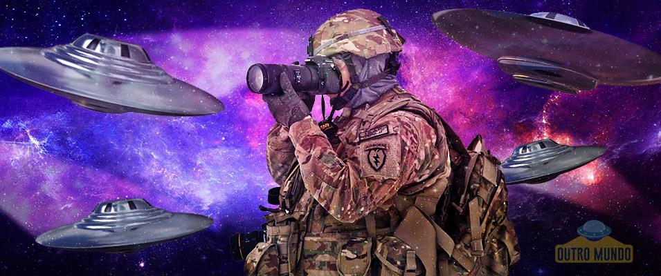 Como captar imagens de UFOs de acordo com os militares dos EUA