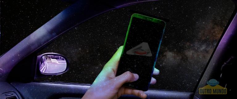 OVNI gravado por câmera de celular próximo a Roswell