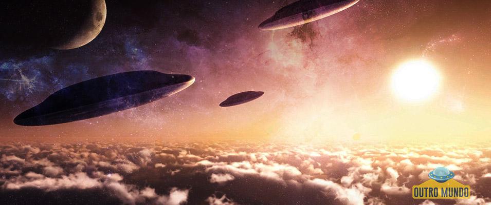 Testemunha recorda avistamento de vários OVNI's no céu noturno dos anos 60