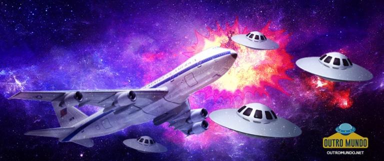 Testemunha relata risco de colisão entre um OVNI e um avião da Lufthansa em Lisboa