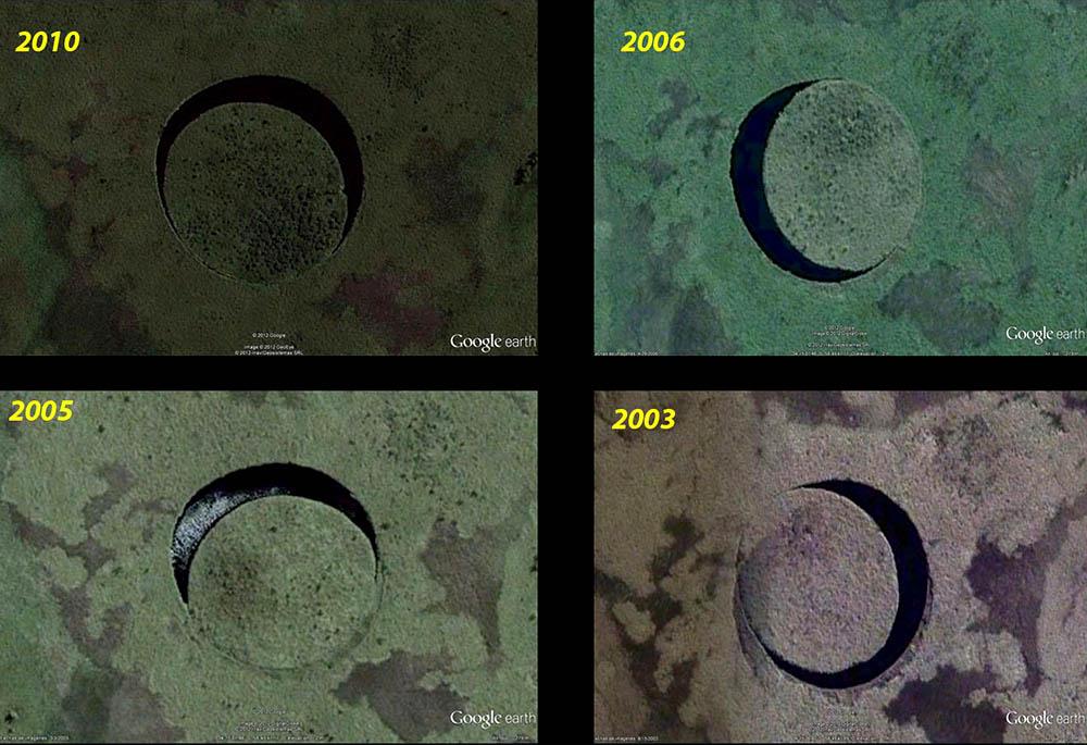 The Eye; A misteriosa ilha circular que se move e os fenômenos a sua volta