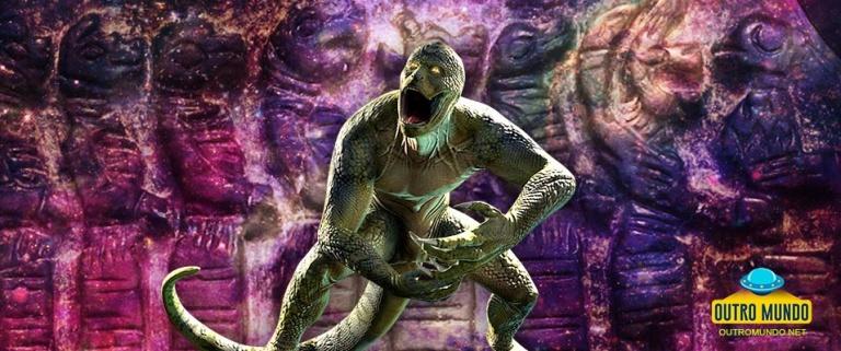 O Povo Lagarto pre-sumério; Artefatos retratando humanoides com aparência de lagarto