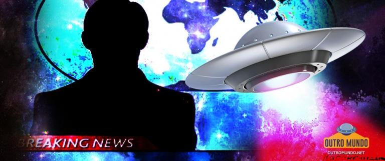 Câmeras de monitoramento de tempestade capturaram OVNIs em transmissão ao vivo