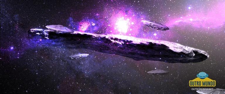 NASA; Gigantesco objeto alongado atravessando sistema solar pode ser metálico