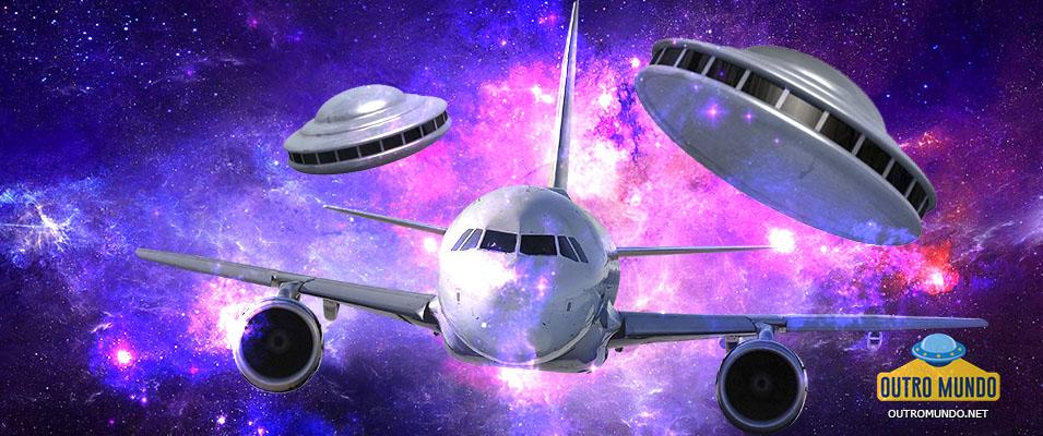 Encontros de OVNIs e aviões comerciais; 5 vídeos impressionantes