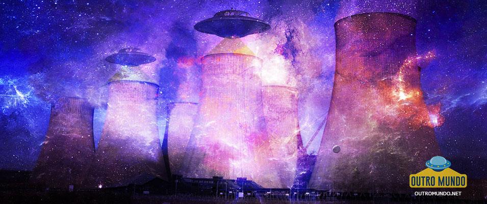 Usinas nucleares monitoradas por extraterrestres
