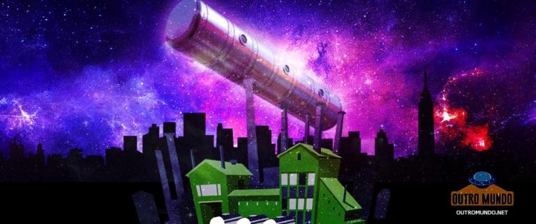 Espetacular OVNI em forma de charuto filmado na Rússia
