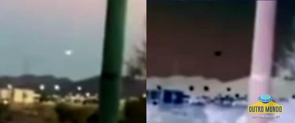 Vídeo de OVNI que sobrevoa Heremosillo no México